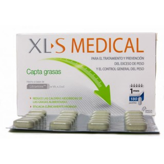 Pierde peso con ayuda de XLS Medical Captagrasas